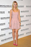 I'm still gushing over this girlie-goes-chic look: Gwyneth Paltrow's pretty-in-pink Azzedine Alaïa and hot-pink pumps.