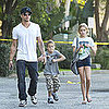 Pictures of Ryan Phillippe Spending His Weekend in LA With Ava and Deacon