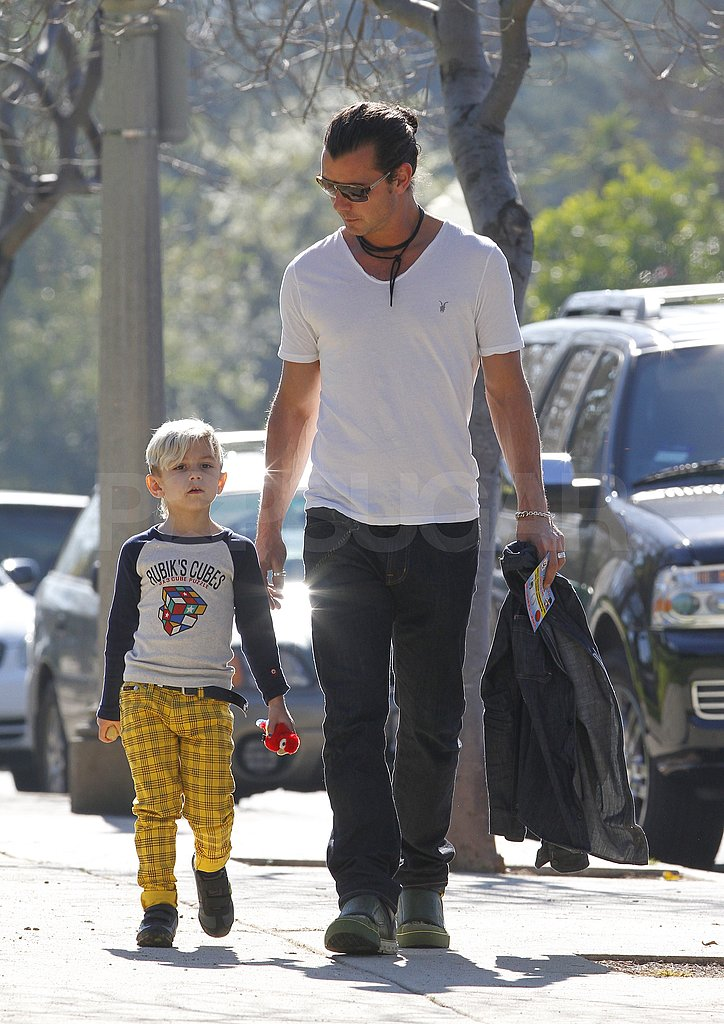 Gwen and Gavin Have a Sunny LA Weekend With Their Boys