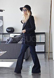 Pictures of Pregnant Rachel Zoe and Rodger Berman Shopping For Baby Furniture in LA