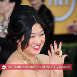 Celebrity Manicures at the 2011 SAG Awards 2011-01-30 19:19:43
