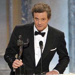 Colin Firth Wins the Screen Actors Guild Award For Outstanding Performance by a Male Actor in a Leading Role 2011-01-30 18:53:52