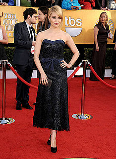 Pictures of Glee Star Dianna Agron at the 2011 Screen Actors Guild Awards 2011-01-30 16:36:53