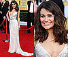 Lea Michele Wears Oscar de la Renta to the SAG Awards 2011