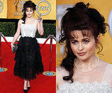 Helena Bonham Carter Wears Matching Black Pumps to SAG Awards 2011