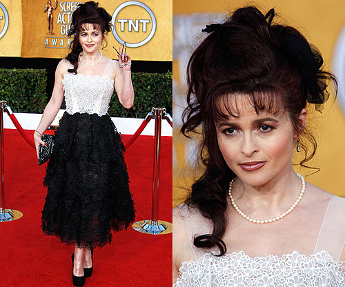 Helena Bonham Carter in Marc Jacobs Resort 2011 SAG Awards 2011