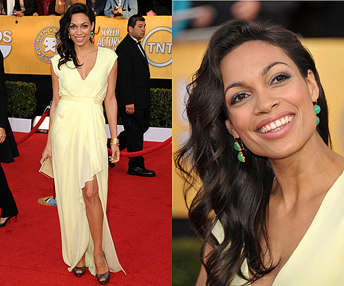 Rosario Dawson Wears J. Mendel to SAG Awards 2011