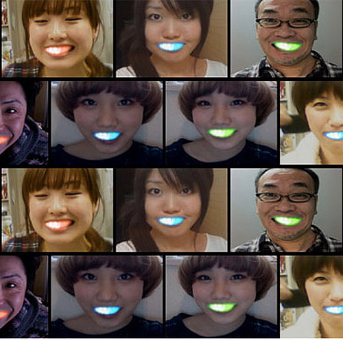 New Japanese LED Mouth Grills