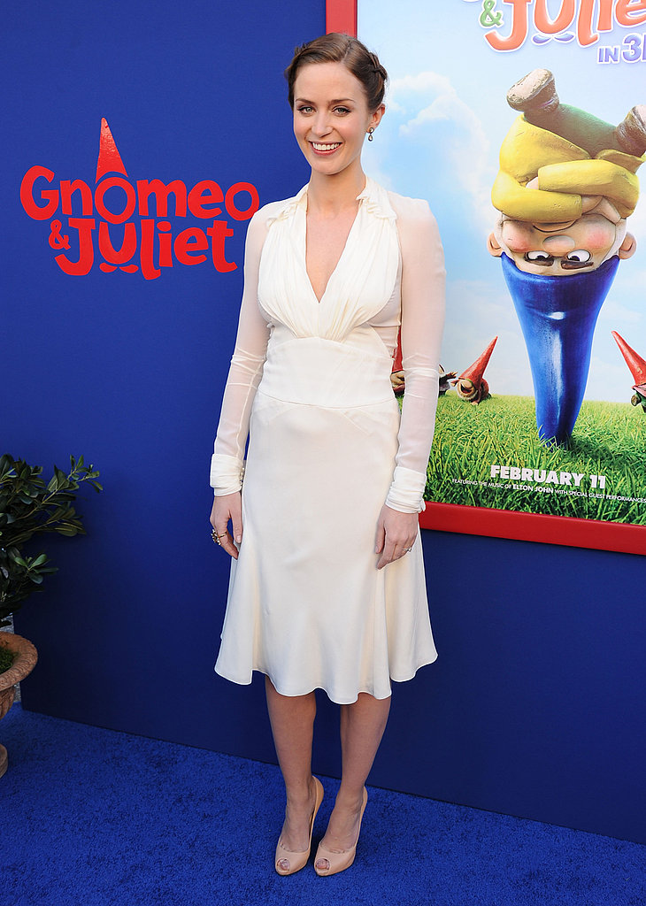 Emily Blunt and James McAvoy Premiere Gnomeo and Juliet With the Rossdale Boys