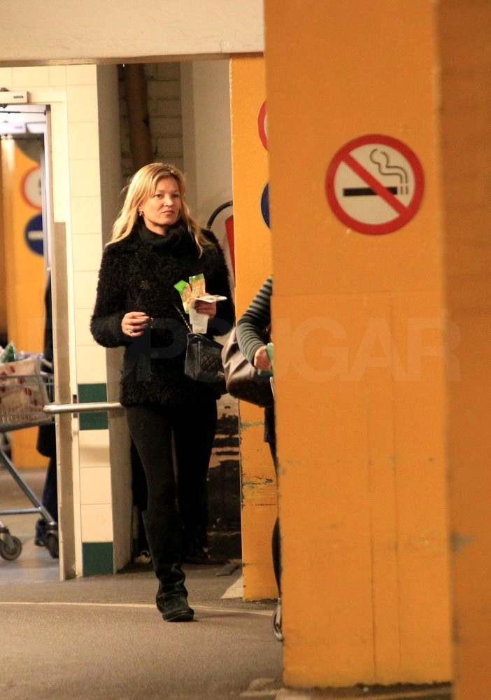 Kate Moss Can Make Even a Grocery Store Run a Party