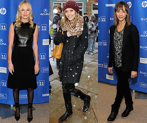Photos of Celebrities at the 2011 Sundance Festival