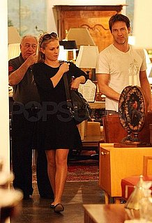 Pictures of Anna Paquin With Husband Stephen Moyer Shopping in LA