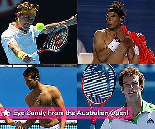 Hot, Shirtless Male Tennis Players From the 2011 Australian Open Including Rafael Nadal, Andy Roddick, Novak Djokovic