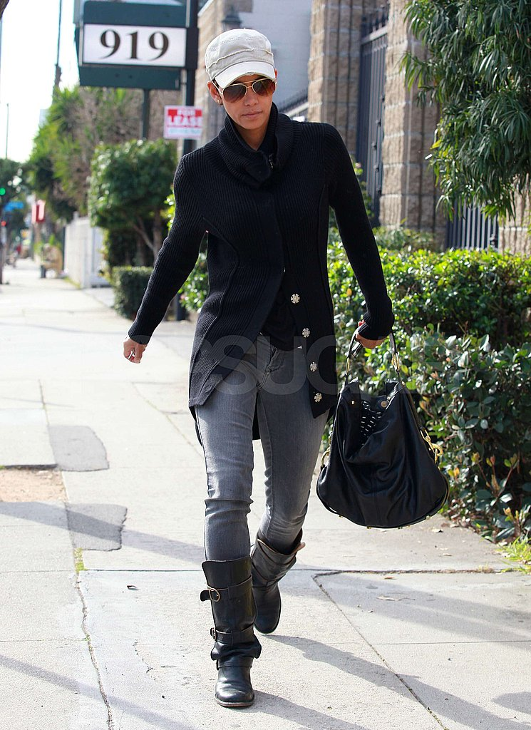 Halle Goes School Shopping For Nahla Following an Artsy Weekend With Olivier