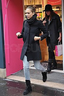 Pictures of Jessica Alba Shopping in Paris