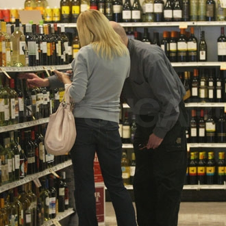 Guess Which Famous Mom Hit the Liquor Store?