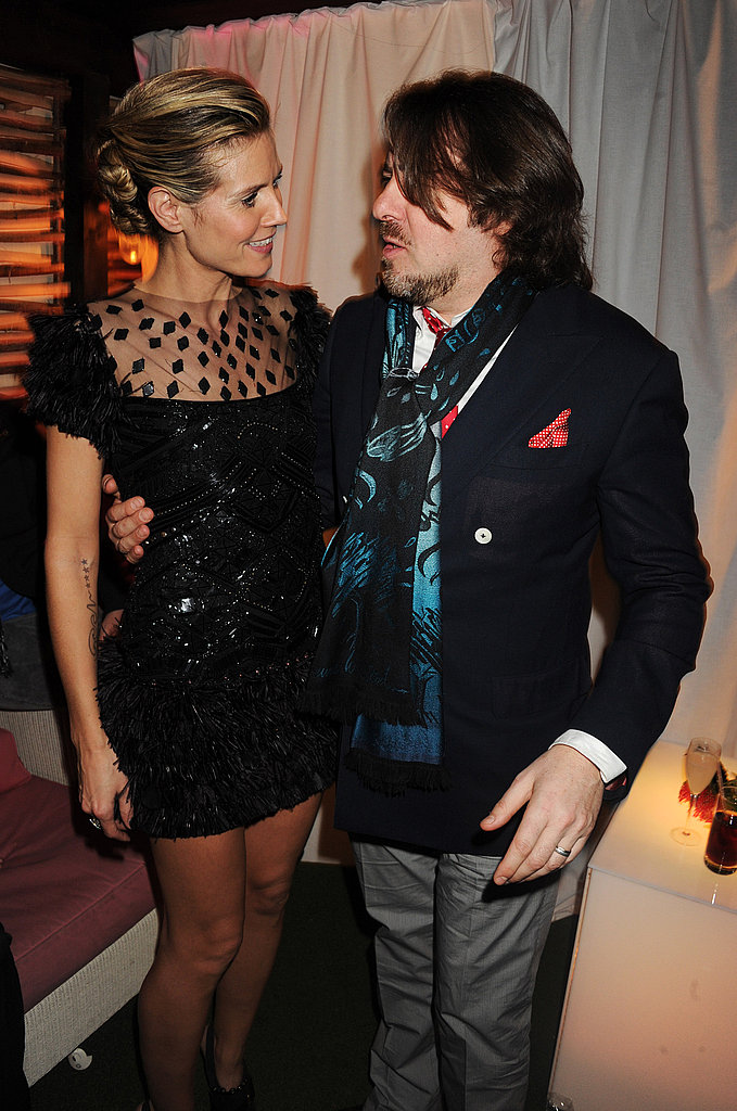 Heidi Klum & Jonathan Ross Celebrate the Best of British With InStyle and BAFTA
