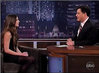 Hailee Steinfeld Plays Assistant to Jimmy Kimmel