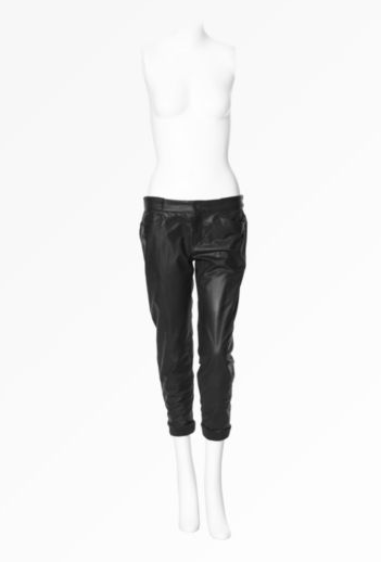 Patch Leather Trousers ($920)