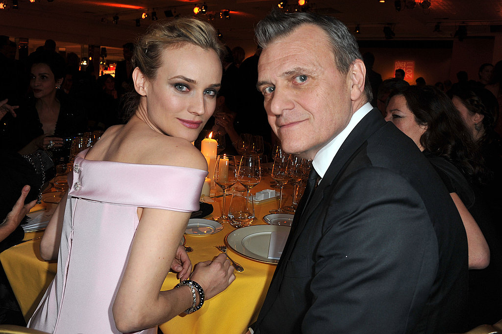 Diane Kruger Hits Her Latest Fashion Week Dinner For a Cause