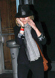 Pictures of Scarlett Johansson and Justin Long Leaving and Iron & Wine Concert