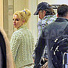 Pictures of Britney Spears and Jason Trawick Flying Out of LAX