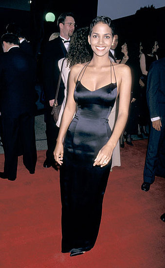 Halle Berry was doing her signature sleek and sexy thing even back at the first annual SAG awards show in '95.