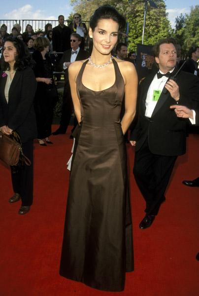 Angie Harmon at the 1999 SAG Awards