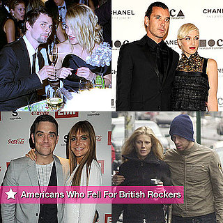 Pictures of American Women Who Fell For British Rock Stars Including Kate Hudson and Matt Bellamy