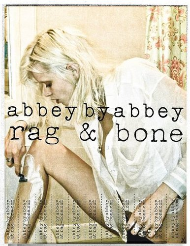 Rag & Bone Ad Campaign Featuring Abbey Lee Kershaw, Edita Vilkeviciute, Sasha Pivovarova and Lily Aldridge