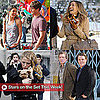 Pictures of Blake Lively, Sarah Jessica Parker, and Matt Damon on Set