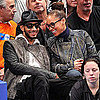 Pictures of Alicia Keys, Swizz Beatz, Kayne West, and More at the Heat Versus Knicks Game