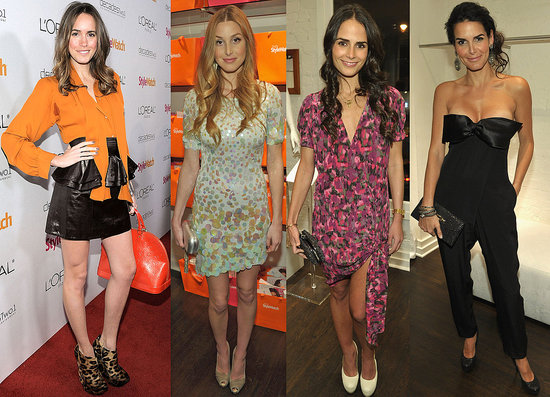 A Night of Red Carpet Style With Whitney Port, Angie Harmon, Jordana Brewster, and More!