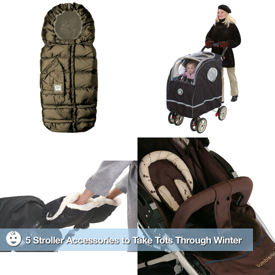 5 Stroller Accessories to Take Tots Through Winter