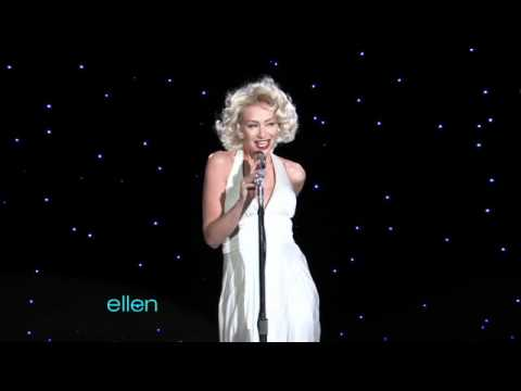 Portia de Rossi Dresses Up as Marilyn Monroe to Sing Happy Birthday to Ellen DeGeneres