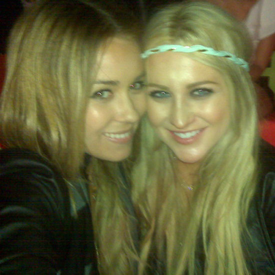 Lauren Conrad hung out with pal Stephanie Pratt.  Source: Twitter user laurenconrad