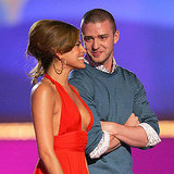 Eva Mendes was in good company with Justin Timberlake to present the June 2006 MTV Movie Award for best kiss.