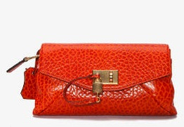 Marc Jacobs Garbo Leather Clutch ($1,195)