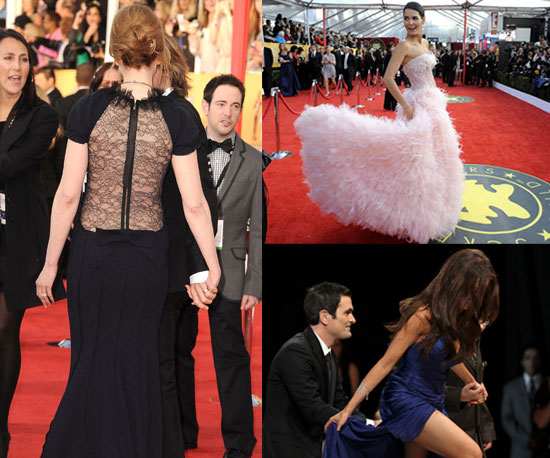 See the Fabulous SAG Awards Gowns From All Different Views