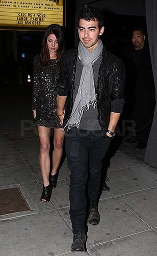Pictures of Ashley Greene and Joe Jonas on a Date in LA