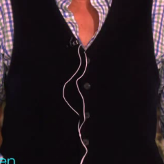 Vibrating Bra on Ellen
