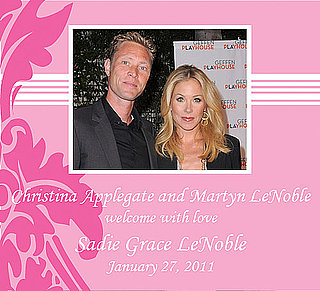 Christina Applegate Has a Baby Girl