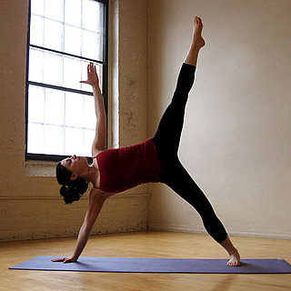 Balancing Star Yoga Pose Is a Cross Between Sage and Half Moon
