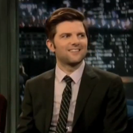 Adam Scott Interview Video From Late Night With Jimmy Fallon About Megan Fox