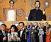 Pictures of The King's Speech Stars, Natalie Portman, the Cast of Modern Family in the 2011 SAG Awards Press Room