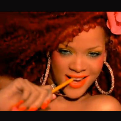 """The Wildest Beauty Looks From Rihanna's New """"S&M"""" Video"""