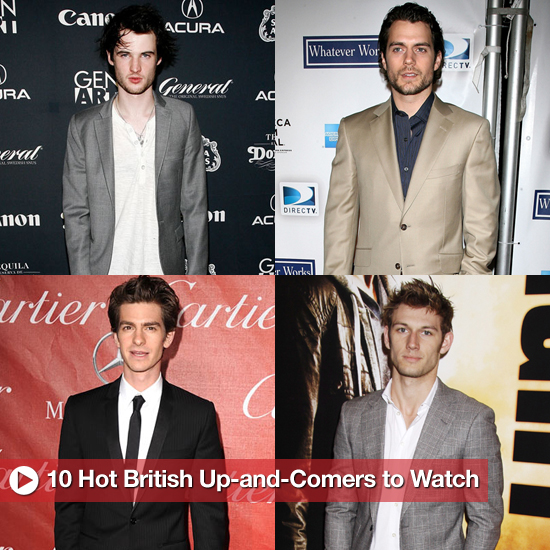 Hot British Actors, Including Andrew Garfield, Henry Cavill, Tom Hardy, and More 2011-02-03 12:30:10
