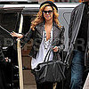 Pictures of Beyonc Knowles Going to Meeting in New York
