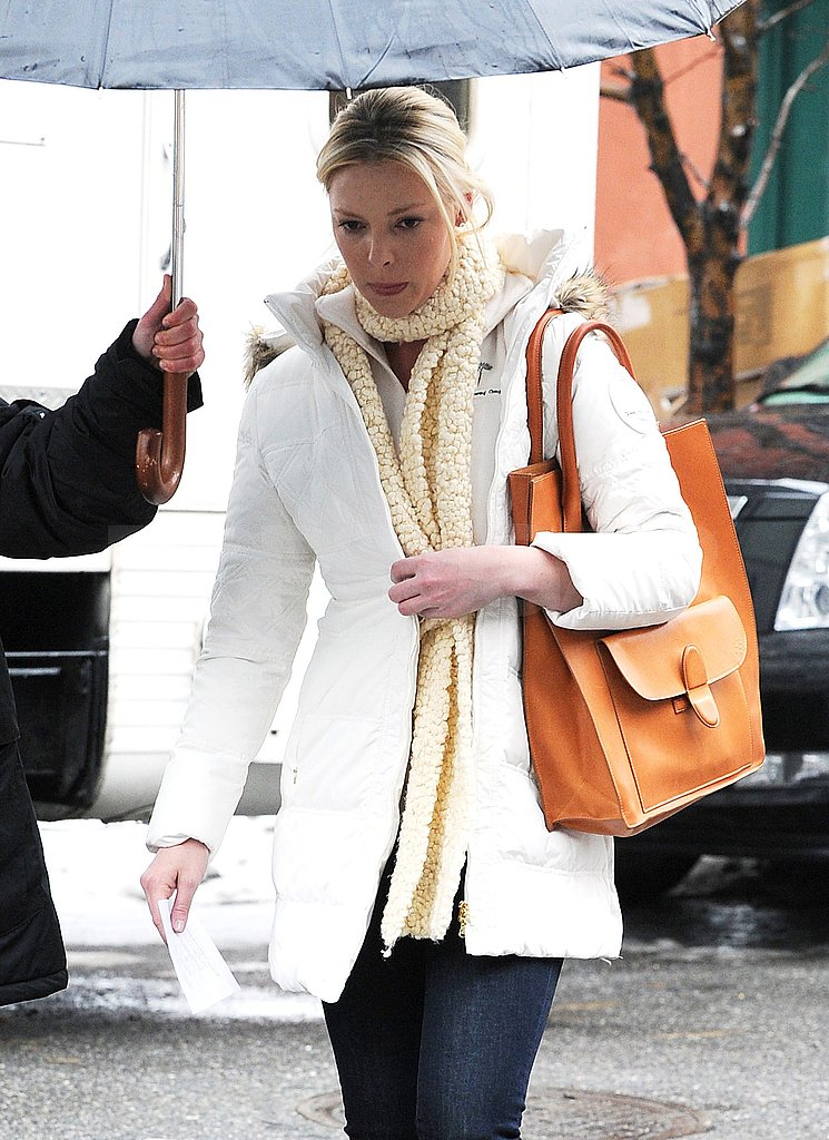 Katherine Heigl Steps Onto New Year's Eve Set Instead of Halle Berry