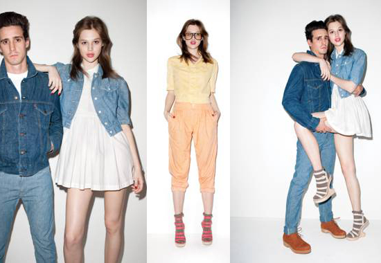 Opening Ceremony and Levi's Introduce Chambray Collection 2011-02-02 10:25:04